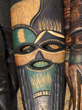 Afrykanin maska Fotografia Stock