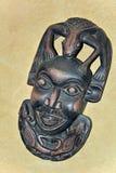 Afrykanin maska Zdjęcie Stock