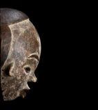 Afrykanin maska rzeźbiąca Fotografia Royalty Free