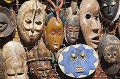 Afrykanin maski dla bubla Fotografia Royalty Free