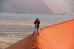Afrykanin pustynna przygoda Zdjęcia Stock