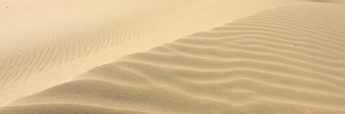 Afrykanin pustynne diuny Obrazy Royalty Free