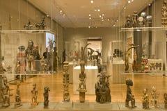 Afrykanin rzeźby w Seattle muzeum sztuki Zdjęcia Stock