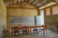 afrykanin szkoła Fotografia Royalty Free