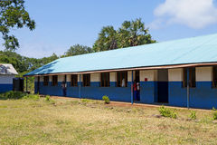 Afrykanin szkoła w Kenja Obraz Royalty Free