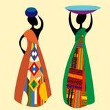 afrykanin tradycyjny royalty ilustracja