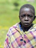 Afrykanina biednie ubierający nastolatek Fotografia Stock