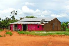 afrykanina dom Obrazy Royalty Free