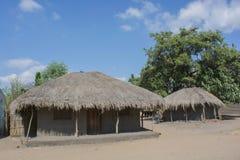 afrykanina dom Zdjęcia Royalty Free