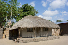 afrykanina dom Fotografia Stock