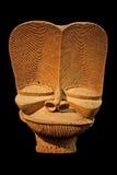 afrykanina drewniany maskowy Zdjęcia Stock