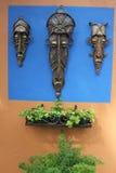 Afrykanina żelaza maski Zdjęcia Stock