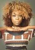 Afrykanina Karaiby kobieta Zdjęcie Stock