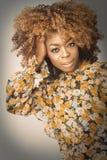 Afrykanina Karaiby kobieta Obraz Stock