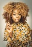 Afrykanina Karaiby kobieta Zdjęcia Stock