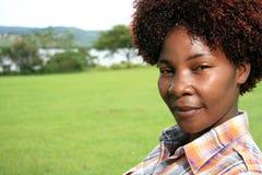 afrykanina kobieta fotografia stock
