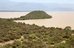 Afrykanina krajobraz Zdjęcie Stock