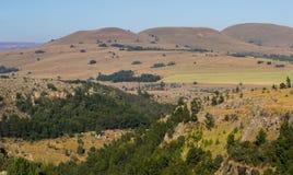 Afrykanina krajobraz w Mpumalanga Południowa Afryka Zdjęcia Stock