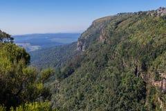 Afrykanina krajobraz w Mpumalanga Południowa Afryka Fotografia Stock