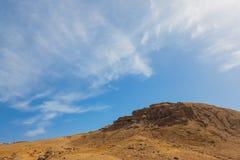 Afrykanina krajobraz z górami Zdjęcie Royalty Free
