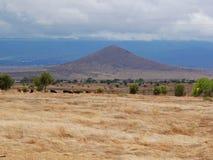 Afrykanina krajobrazowy widok Tanzania Zdjęcie Stock