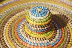 Afrykanina lata stylowy kapelusz Zdjęcie Stock