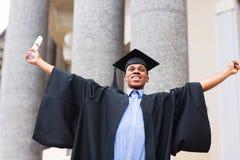 Afrykanina magisterski dyplom Obrazy Stock