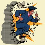Afrykanina magisterski university college łama ścianę, niszczy stereotypy ilustracji