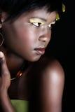 Afrykanina model Zdjęcia Stock