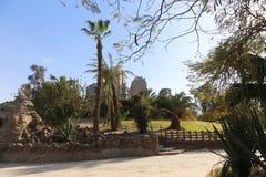 Afrykanina park przy Aswan, Egipt Zdjęcia Royalty Free