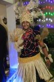 afrykanina przyjęcie zdjęcie stock