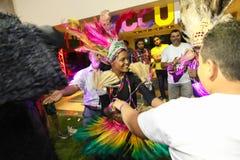 afrykanina przyjęcie Zdjęcie Royalty Free