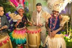 afrykanina przyjęcie Obrazy Royalty Free