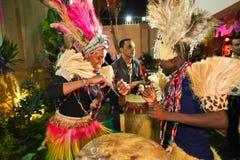 afrykanina przyjęcie Zdjęcia Royalty Free