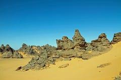 afrykanina pustyni krajobraz Obraz Royalty Free