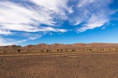 afrykanina pustyni krajobraz Zdjęcie Royalty Free