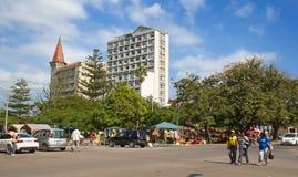 Afrykanina rynek Obrazy Royalty Free