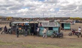 afrykanina rynek Zdjęcie Royalty Free