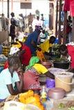 afrykanina rynek Fotografia Royalty Free