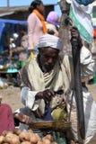 Afrykanina rynek Debark w Etiopia Zdjęcie Royalty Free