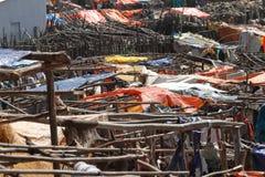 Afrykanina rynek Debark w Etiopia Obraz Stock