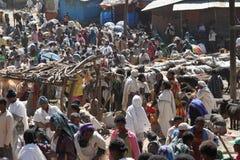 Afrykanina rynek Debark w Etiopia Fotografia Stock