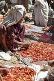 Afrykanina rynek Debark w Etiopia Zdjęcia Stock