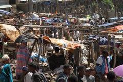 Afrykanina rynek Debark w Etiopia Zdjęcie Stock