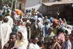 Afrykanina rynek Debark w Etiopia Obrazy Royalty Free