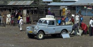 Afrykanina rynek, Tanzania Zdjęcia Stock