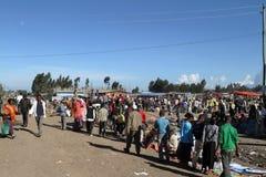 Afrykanina rynek w Etiopia Zdjęcie Royalty Free