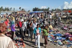 Afrykanina rynek w Etiopia Zdjęcia Royalty Free