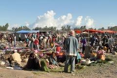 Afrykanina rynek w Etiopia Zdjęcia Stock