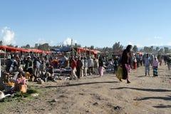 Afrykanina rynek w Etiopia Zdjęcie Stock